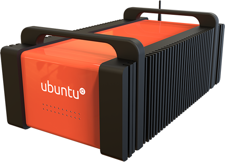 Ubuntu Organe Box Front