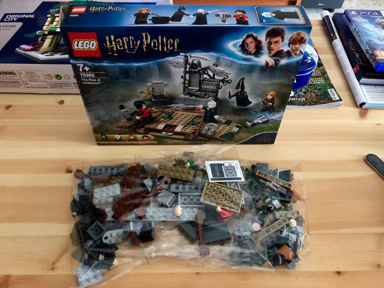 Lego Alzamiento Voldemort 75965 Harry Potter